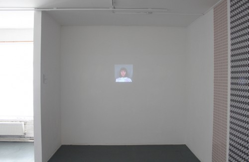 Self Portraits 2012, Video Installation, Exhibition view, Trompe-l'oeil / interpassive, Vyner Street Gallery, London