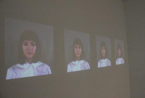 Self Portraits 2012, Video Installation, Exhibition view, Trompe-l'oeil / interpassive, Vyner Street Gallery, London