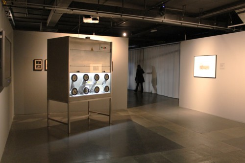 Fragments of Unspoken Thoughts, Exhibition view, Jakopic Gallery, Ljubljana 2012